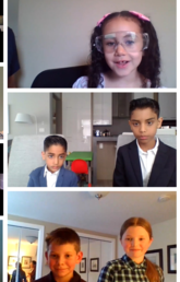 Collage of finalists