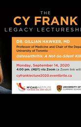 2020 Cy Frank Legacy Lecture
