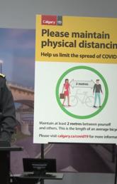 Tom Sampson at City of Calgary COVID-19 update