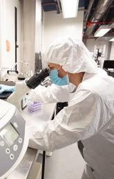 biosafety level 3 lab