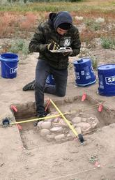 Archeology and culture combined at Siksika Nation field program