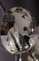 University of Calgary Internationalization Achievement Awards trophy