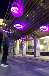 Student-designed test project aims to improve safety and vibrancy downtown