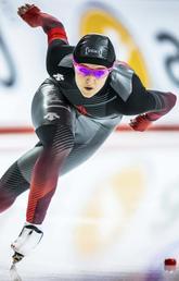 Stuck in a Heerenveen hotel Winnipeg speedskater making best of things under competition's COVID protocol