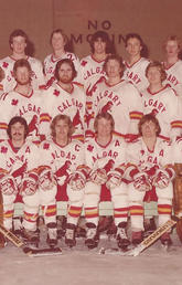 Terry Johnson (middle row, third player from right) played one season with the Dinos, 1978-79