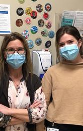 Nursing student says mentoring relationship makes her grateful for choosing nursing