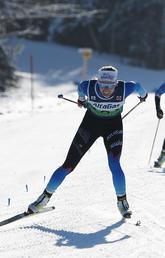 Elizabeth Elliott qualifies for the World's U23 Championship last year in Mont Sainte-Anne, Quebec.