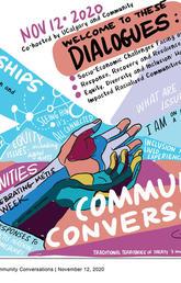 Community Conversations Event November 12 graphic