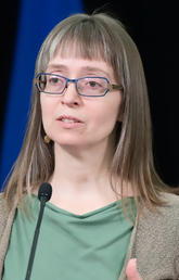 Deena Hinshaw describes what leadership is like at the centre of Alberta's pandemic response