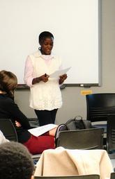Graduate research presentations
