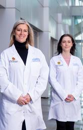 Dr. Deborah Kurrasch and Dr. Jessica Rosin