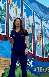 Nursing career leads to new adventures, opportunities and growing pains for alumna