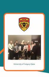 BPSO Champions from University of Calgary in Qatar
