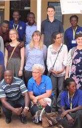 Interns in Tanzania