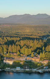 : Perched on the outer west coast of Vancouver Island, BMSC provides access to a remarkable diversity of marine, terrestrial, freshwater and cultural sites of the North East Pacific basin. With 3000 sq m of modern laboratory space it can support research in almost any field of study.