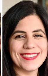 (L-R) Shelley Yongblut, Breanne Everett, Rahat Zaidi, John R. Lacey and Aamir Jamal