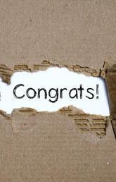 Congratulations to Aisha Khan!