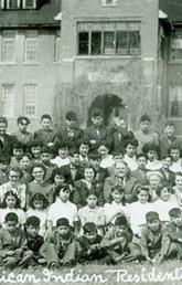 St. Paul's Residential School, Blood Reserve, 1950.