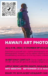 Hawai'i Art Photography group study is now live accepting applications