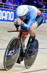 Speed Skater Vincent de Haitre Breaks National Track Cycling Record in Tokyo 2020