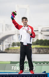 UCalgary triathlete delivers another medal at Tokyo Paralympics
