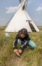 Students get their hands dirty at Soil Camp