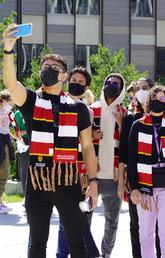 Scarves, ice cream and memories made at Schulich Orientation Day