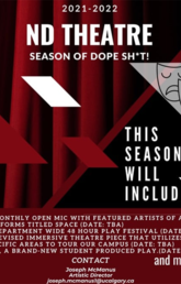 ND Student Theatre Season Announcement