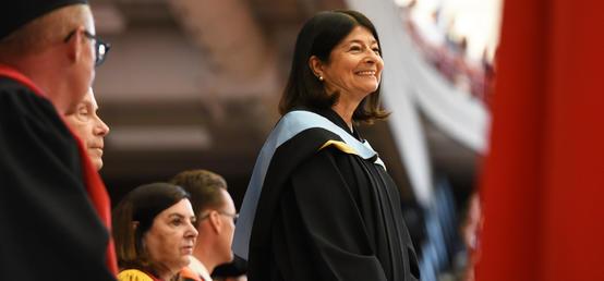 Cynthia Prasow receives Order of the University of Calgary