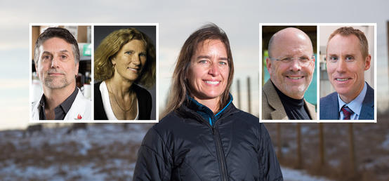 Five accomplished scientists recognized for their achievements confronting complex health challenges