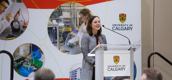 They stand apart – UCalgary researchers whose work makes the most difference for others