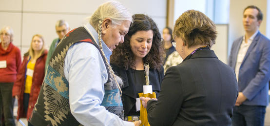 Delegates rethink community engagement through an Indigenous lens