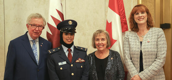 Former Canadian PM, first Qatari female combat pilot highlight women's accomplishments in Qatar and Canada