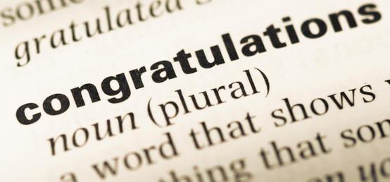 Congratulations to Ganna, Alba, Nella and Abigail