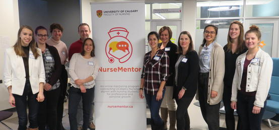 Nursing mentorship program resets to meet engagement needs of students and alumni