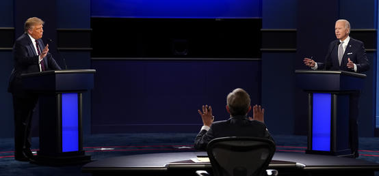 Trump-Biden debate: A locker room brawl in the midst of COVID-19 crisis