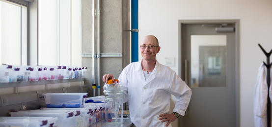 Marc Strous named Fellow of the Royal Society of Canada