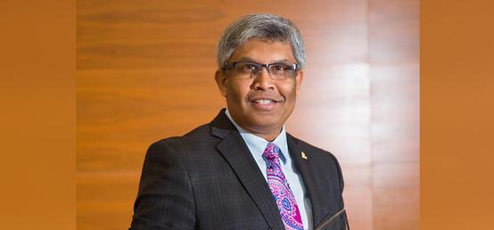Janaka Ruwanpura receives international leadership award