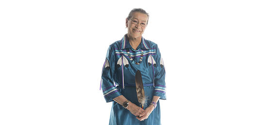 Elder in Residence receives one of Canada's highest civilian honours