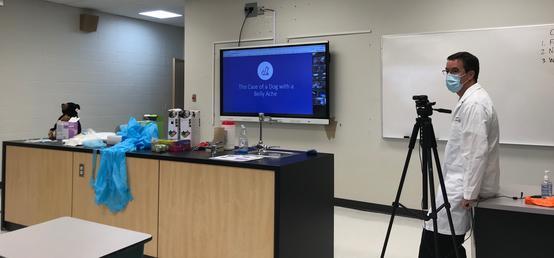 Vet Med faculty develops virtual experiences for Stoney Nakoda youth