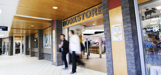 Bookstore update from Linda Dalgetty, vice-president, finance and services