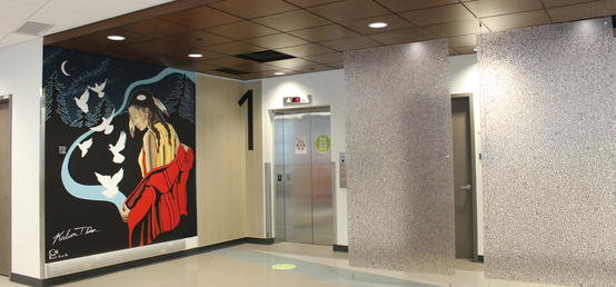 UCalgary Nursing adds new Indigenous murals and artwork to student spaces