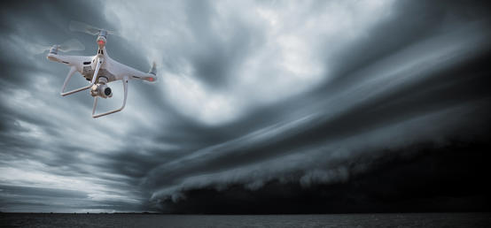 The weather's effects on commercial drones may hinder their widespread use