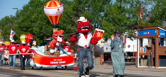A Stampede Parade like no other
