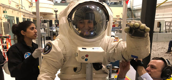 Alumna's Cardiology Research Snagged Her a Spot at the Mars Desert Research Station
