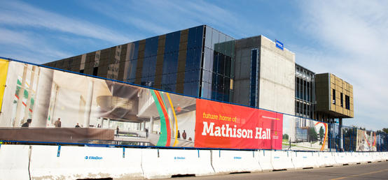 Construction update: Mathison Hall on time to open in late 2022