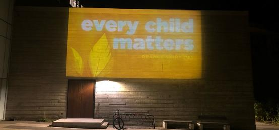 Poignant reminders that Every Child Matters light up UCalgary campus