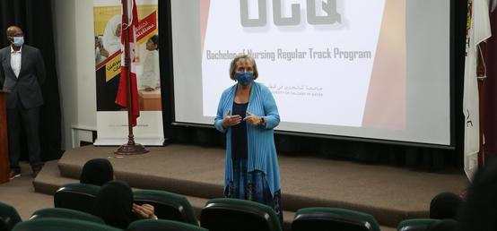UCalgary in Qatar welcomes 160 new students