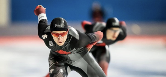 Olympic speed skating hopeful Howe impresses with national championships gold