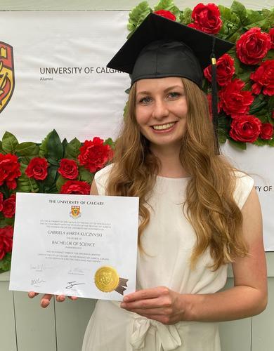Gabriela Kuczynski (BSc '20 in Kinesiology)